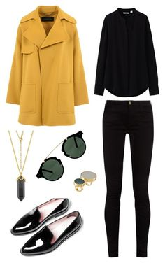 Street style by dalma-m on Polyvore featuring polyvore fashion style Uniqlo Barbara Bui Gucci Marni Spitfire clothing