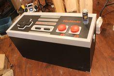 NES controller chest