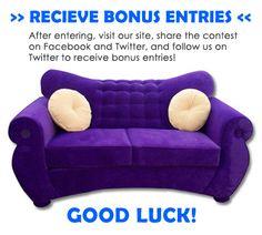Win a FREE Funky Sofa!