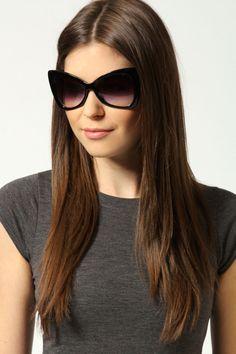 Daria Oversized Retro Sunglasses