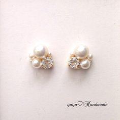 Cute Jewelry, Pearl Jewelry, Diy Jewelry, Beaded Jewelry, Jewelry Box, Jewelery, Handmade Jewelry, Jewelry Design, Handmade Accessories