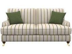 Zweiersofa Kayo Striped Furniture, Sofas, Love Seat, Modern, Plush, Feather, Elegant, Arms, Stylish