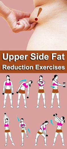 Exercice Du Sport : 8 exercices les plus efficaces pour réduire la graisse du côté supérieur - #Exercice