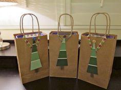 Buste personalizzate Basta un po' di fantasia (e di colla!) per rendere unici dei semplici sacchetti di carta!
