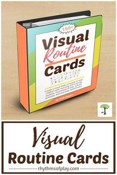 Printable visual routine cards are a powerful tool for parents and educators--they help children gain independence and know what they need to do each day. This makes them especially useful for toddlers, preschoolers, kindergarteners, autistic children, and children with special needs. Get this printable set of visual activity cards with over 150 cards and labels today! | Rhythms of Play Anxiety In Children, Autistic Children, Creative Activities, Activities For Kids, Montessori Practical Life, Montessori Education, Teaching Tips, Holiday Fun, Gain
