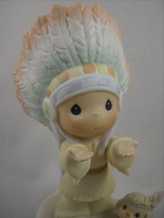 limited edition precious moments figurines | ... Inspiration (signed) : Woolvey: Retired & limited edition figurines