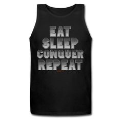 Eat Sleep Conquer Repeat Brock Lesnar Tank Top