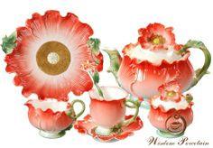 Image detail for -16pcs Flower Franz porcelain Tea Set_Wisdom Porcelain