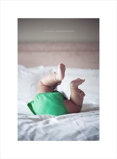 Cute baby bum pose.