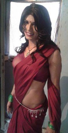 Riya Dsouza Indiana, Indian Crossdresser, Tight Dresses, Crossdressers, Transgender, Dress Outfits, Backless, Tights, Sari