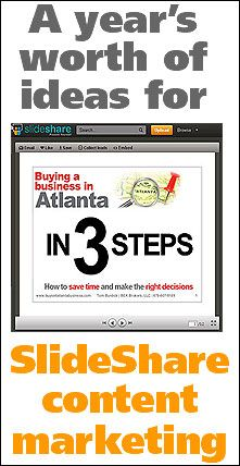 slideshare-content-marketing... Great ideas for blog posts, too