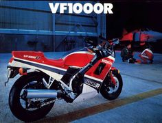 Vf1000r Rode one of these for a while. Quite a beast.