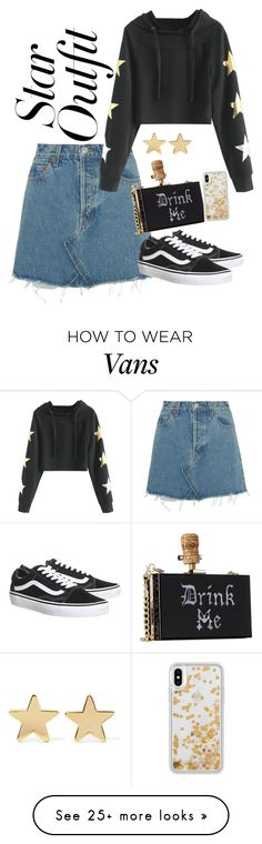 """Untitled #78"" by dreyy14 on Polyvore featuring RE/DONE, Vans, Jennifer Meyer Jewelry, Rebecca Minkoff and StarOutfits"