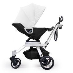 Orbit Baby Black Stroller G2 Car Seat Pram