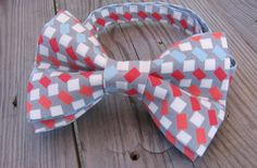 pink bow tie groom groomsman bow tie wedding grey bow tie silver bow tie blue bow tie coral bow tie ringbear mens bow tie gift spring by KoppSHOPP on Etsy