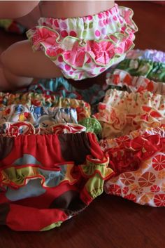 Ruffle pants for Baby Born