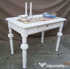 Shabby Chic, Dining Table, Furniture, Home Decor, Gifts, Chic, Dining Room Table, Dinning Table Set, Home Furnishings