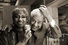 Celia Cruz and Tito Puente Photograph  - Celia Cruz and Tito Puente Fine Art Print