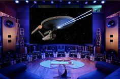 The World's Loudest Home Theater has 4K Projector, 24-foot Screen