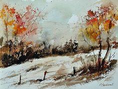 Pol Ledent - watercolor 018090