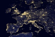 NASA Releases Stunning New Images of the Earth at Night - My Modern Metropolis