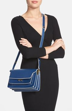 Marni Leather Shoulder Bag | Nordstrom