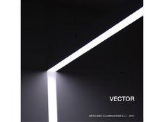 Luminária de embutir de alumínio extrudado VECTOR - METALMEK ILLUMINAZIONE