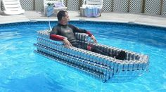 Beer can boat