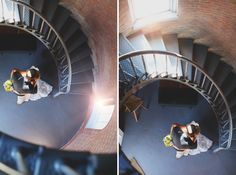 Lighthouse wedding portraits - Hello Love Photography - www.hellolovephoto.com