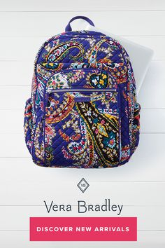 Iconic Campus Backpack. Vera BradleyBackpack ... ece970b96dcbd