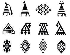 Turkish motifs: Akrep (Scorpio) people used this symbol for protection of scorpios Turkish Pattern, Oriental Pattern, Oriental Design, Persian Motifs, Indian Folk Art, Turkish Art, Tribal Patterns, Crochet Chart, Loom Beading