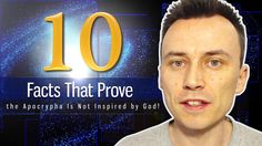 10 FACTS That PROVE the APOCRYPHA Is NOT INSPIRED by God !!! - YouTube  CLICK HERE to watch ➨ http://tinyurl.com/10-facts-apocrypha  SUBSCRIBE to my YouTube channel ➨ http://tinyurl.com/subscribe-bible-flock-box  #apocrypha #oldtestament #bible #catholic #inspired