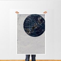 Vintage Inspired Astronomy Print Poster, Constellations,Stars Map,  Zodiac, Gemini, Cancer, Leo, Virgo by TheCuratorsPrints on Etsy https://www.etsy.com/listing/152053558/vintage-inspired-astronomy-print-poster