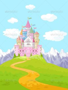 Find Fairy Tale Magic Princess Castle Landscape stock images in HD and millions of other royalty-free stock photos, illustrations and vectors in the Shutterstock collection. Landscape Background, Landscape Walls, Landscape Wallpaper, Fantasy Landscape, Fairytale Castle, Fantasy Castle, Castle Cartoon, Castle Backdrop, Castle Illustration