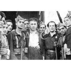 Spain - 1937. - GC - Una imagen de Rafael Alberti