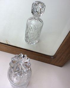 viskikarahvi . kristallia . korkeus 26.5cm . @kooPernu