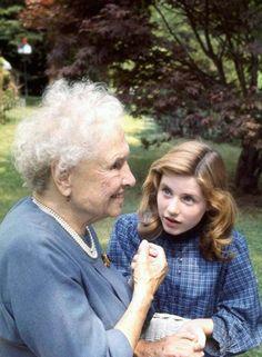 Helen Keller and Patty Duke