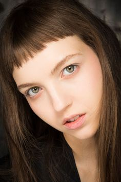 James Kaliardos focused on radiant skin and subtle highlights at Rodarte, for a youthful appearance.