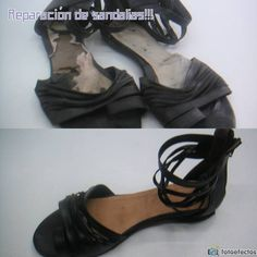 Reparación de sandalia