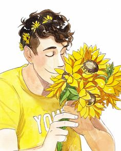 I'll never stop being proud of Dan (credit to this amazing artist of course) #YoungMinds #HelloYellow