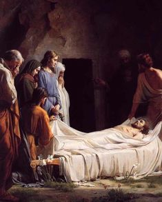 They knew grief and Jesus was also deeply moved and troubled in spirit at the news that Lazarus died before He resurrected Lazarus, Jesus wept.