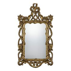 Rich Gold Valerie Mirror