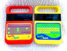 Vintage Texas Instruments Speak and Spell & by CuteVintageToys