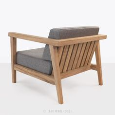 Copenhague Reclaimed Teak Club Chair