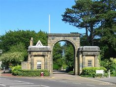 The entrance to Calverley Park in Royal Tunbridge Wells, in the County of Kent. That was a great day.