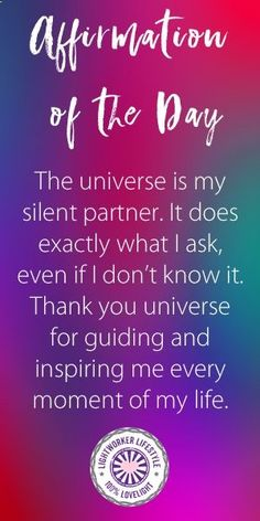 The universe is basically a Xerox machine. It gives you (for the most part) what you put into it. If you are negative and fearful then those are the kinds of experiences you are going to receive. Life becomes a self-fulfilling prophecy and experiences bui