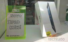 iPad mini é homologado pela Anatel, mas tablet já é vendido no Brasil
