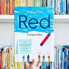 """A blue crayon mistakenly labeled as """"red"""" suffers an identity crisis in this picture book by the New York Times–bestselling creator of My Heart Is Like a Zoo. This funny, heartwarming, colorful picture book about finding the courage to be true to your inner self can be read on multiple levels, and it offers something for everyone. 📸 @missmskindergarten Colorful Pictures, Cool Pictures, National Book Store, Blue Crayon, Gifts For Readers, Be True To Yourself, New Perspective, Picture Books, New Friends"""