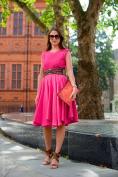 This pink dress...