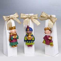Imán Reyes Magos, 3 bombones - detallesparainvitados.com